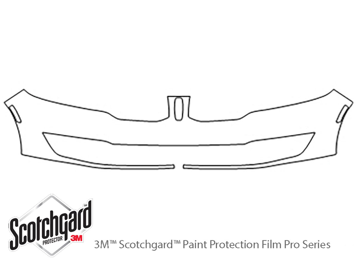 3M Scotchgard Paint Protection Film Clear Bra Pre-Cut 2017 2018 Lincoln MKZ