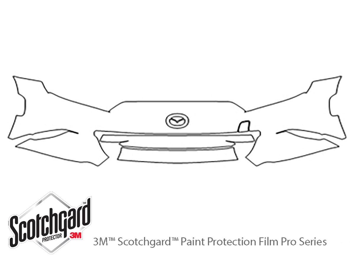 Precut Paint Protection Film Kit for Mazda Miata MX-5 2016-2019 Clear bra Shield