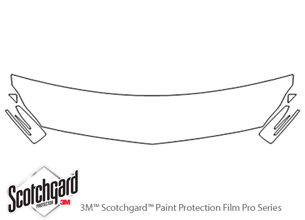 3M Scotchgard Paint Protection Film Clear Bra Pre-Cut Kits 2015 Mercedes E-Class
