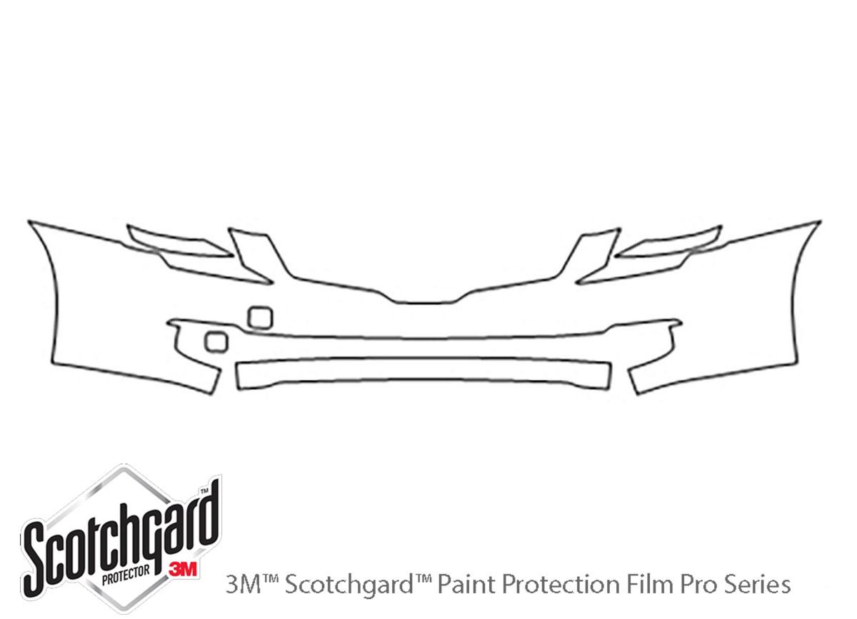 3M Scotchgard Paint Protection Film Pre-Cut Fits 2007 2008 2009 Nissan Altima