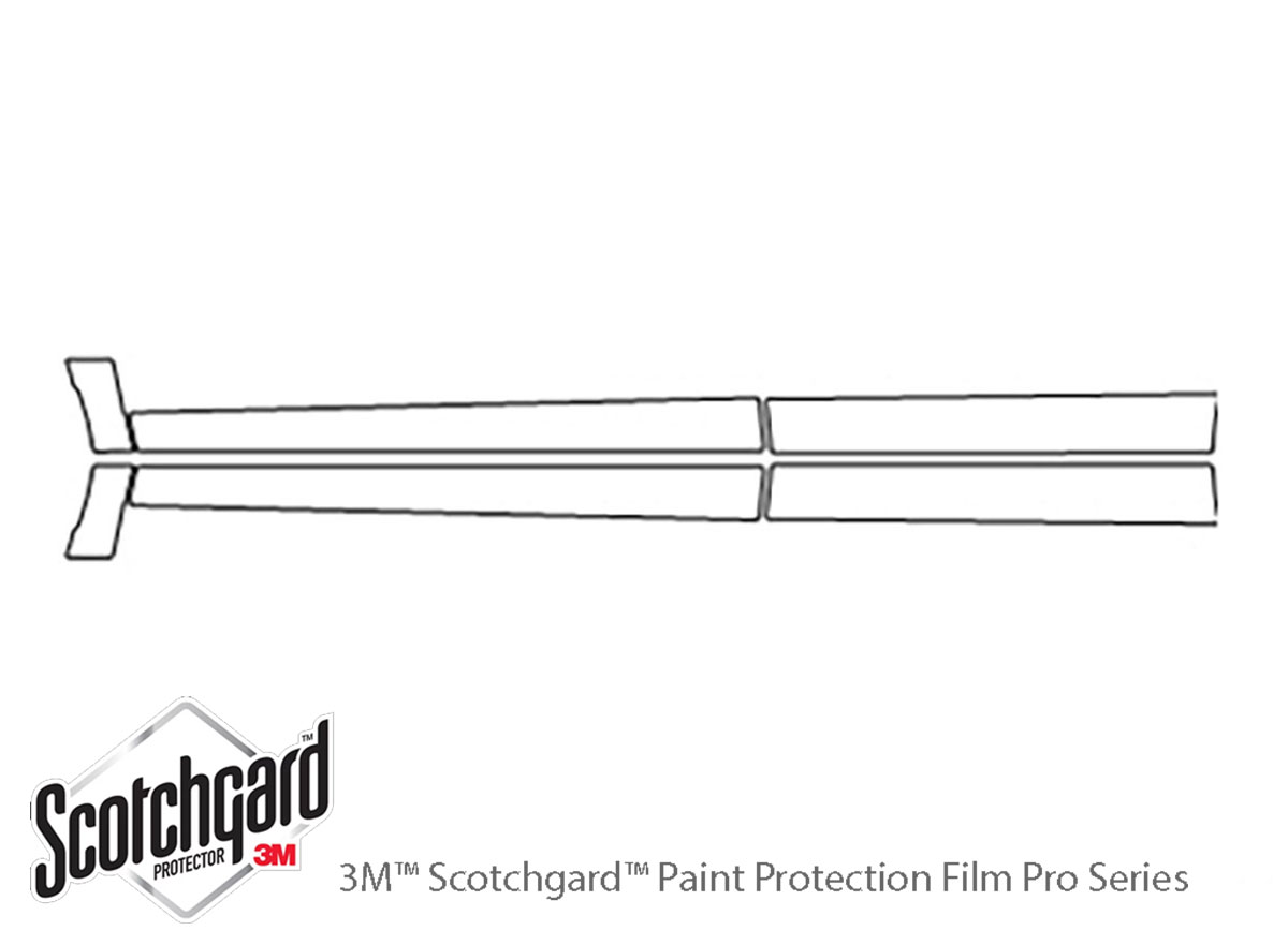 3M Scotchgard Paint Protection Film Clear Bra Fits 2017 2018 Nissan Pathfinder