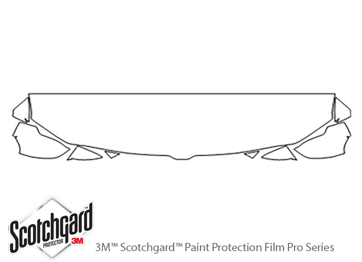 3M Scotchgard Paint Protection Film Clear Kit 2019 2020 2021 Ford Ranger