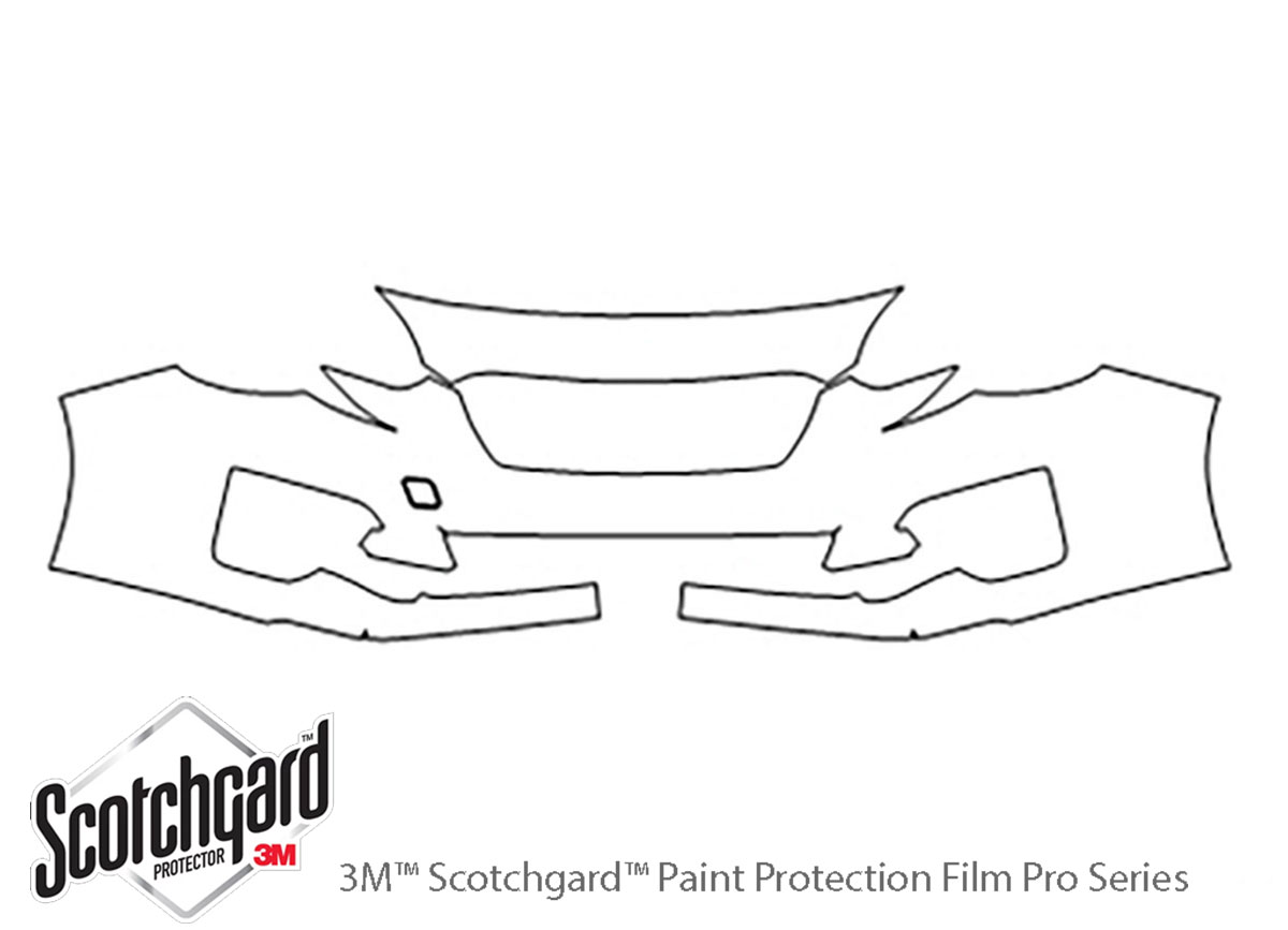 3M Scotchgard PreCut Paint Protection Clear Bra Kit for Subaru Impreza 2017-2018