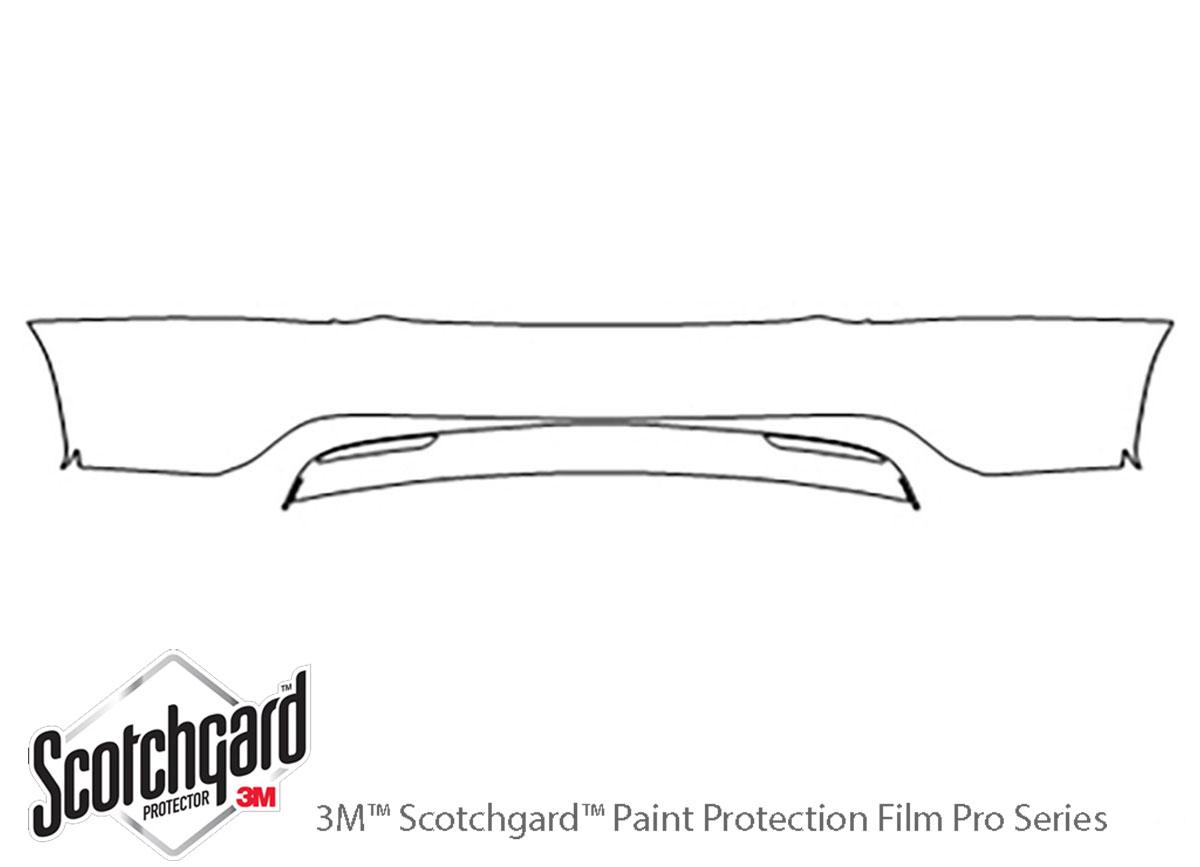 Tesla Model X 2016-2019 PreCut 3M Scotchgard Paint Protection Film Clear Bra PPF