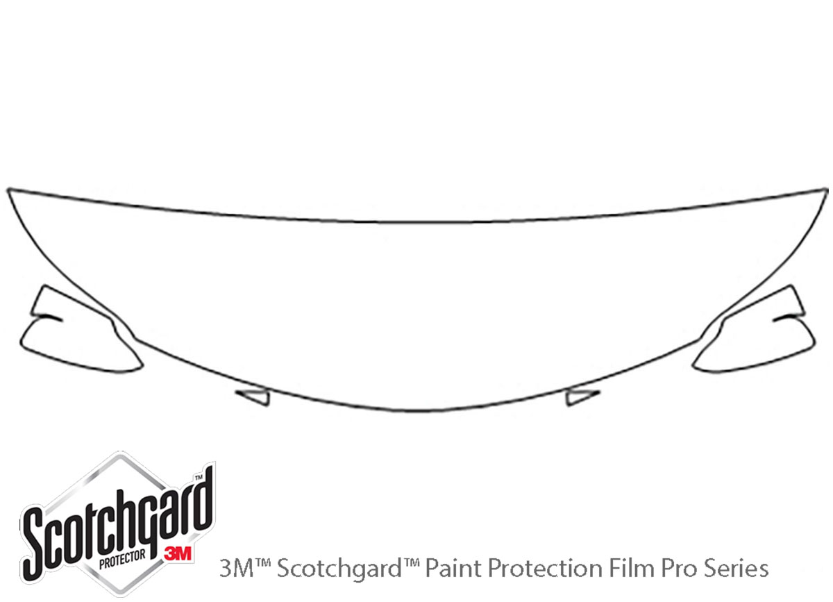 3M Scotchgard Paint Protection Film Clear Pre-Cut 2013 2014 2015 Toyota Avalon