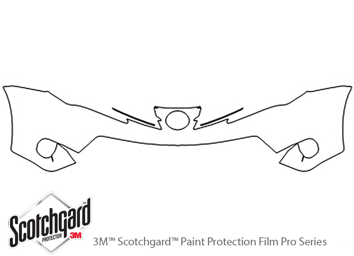 3M Scotchgard Paint Protection Film Clear Pre-Cut 2013 2014 2015 Toyota Rav4