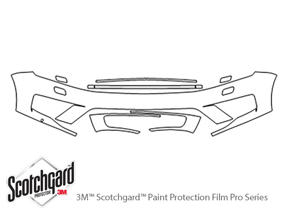 Volkswagen Touareg 2015-2017 PreCut 3M Scotchgard Paint Protection Clear Bra Kit