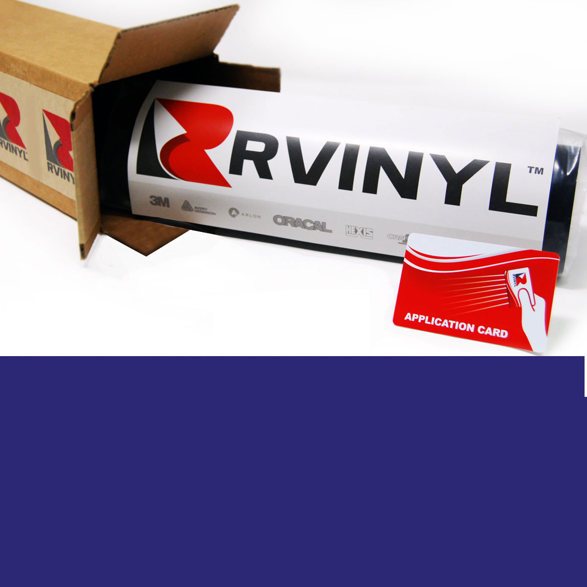 Avery PR800 Royal Blue Translucent Vinyl Film