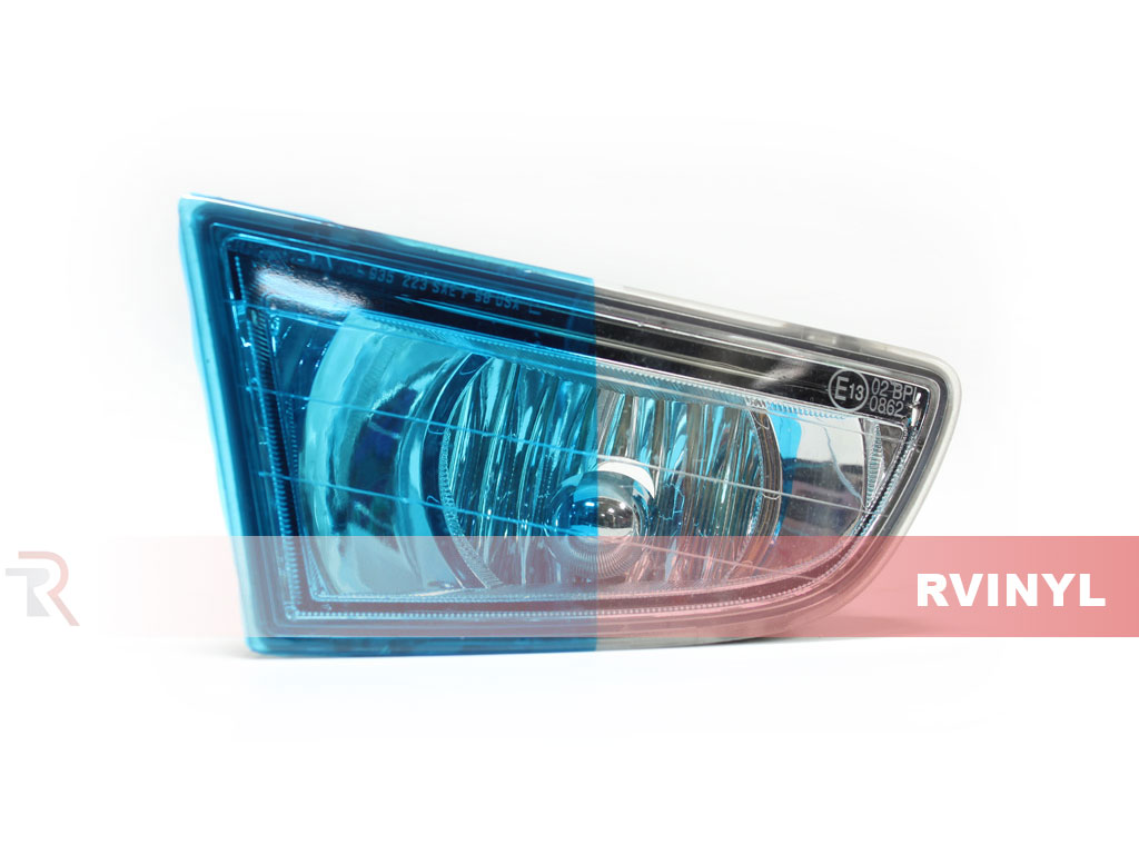 Blue Smoke Headlight Tint Example