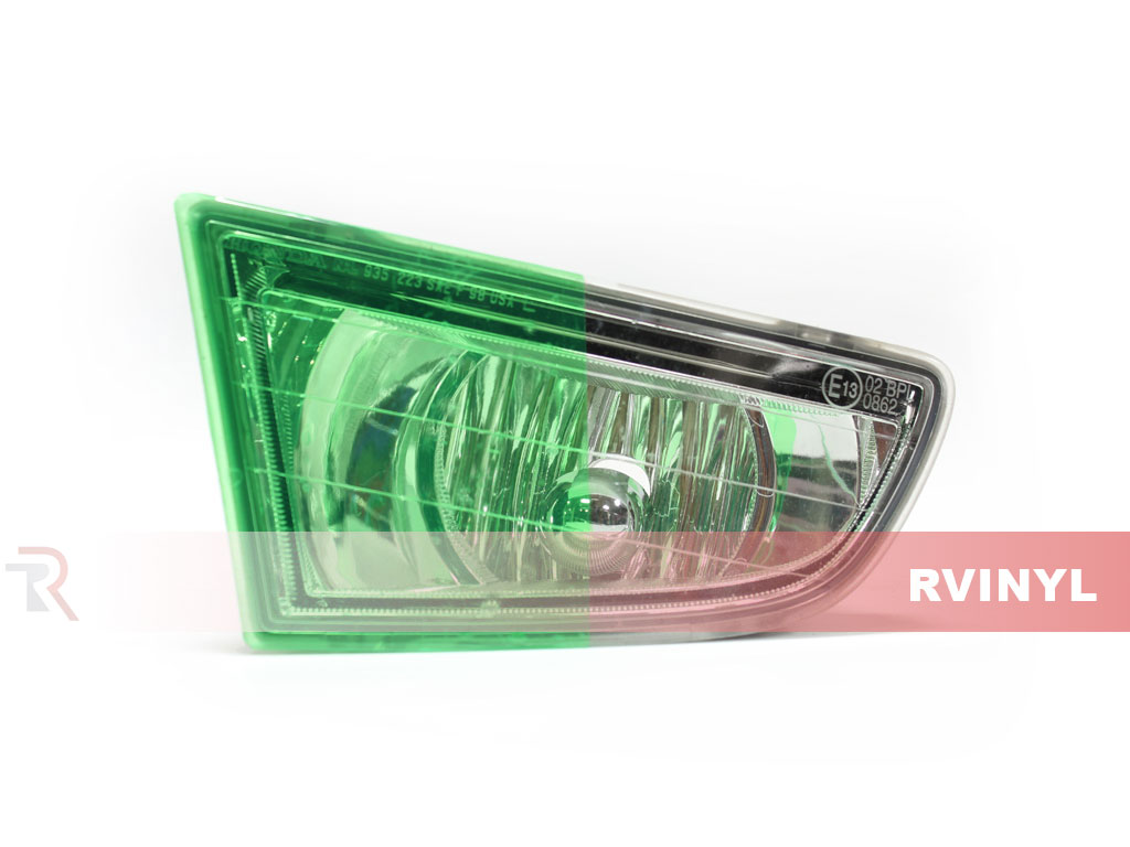 Green Smoke Headlight Tint Example