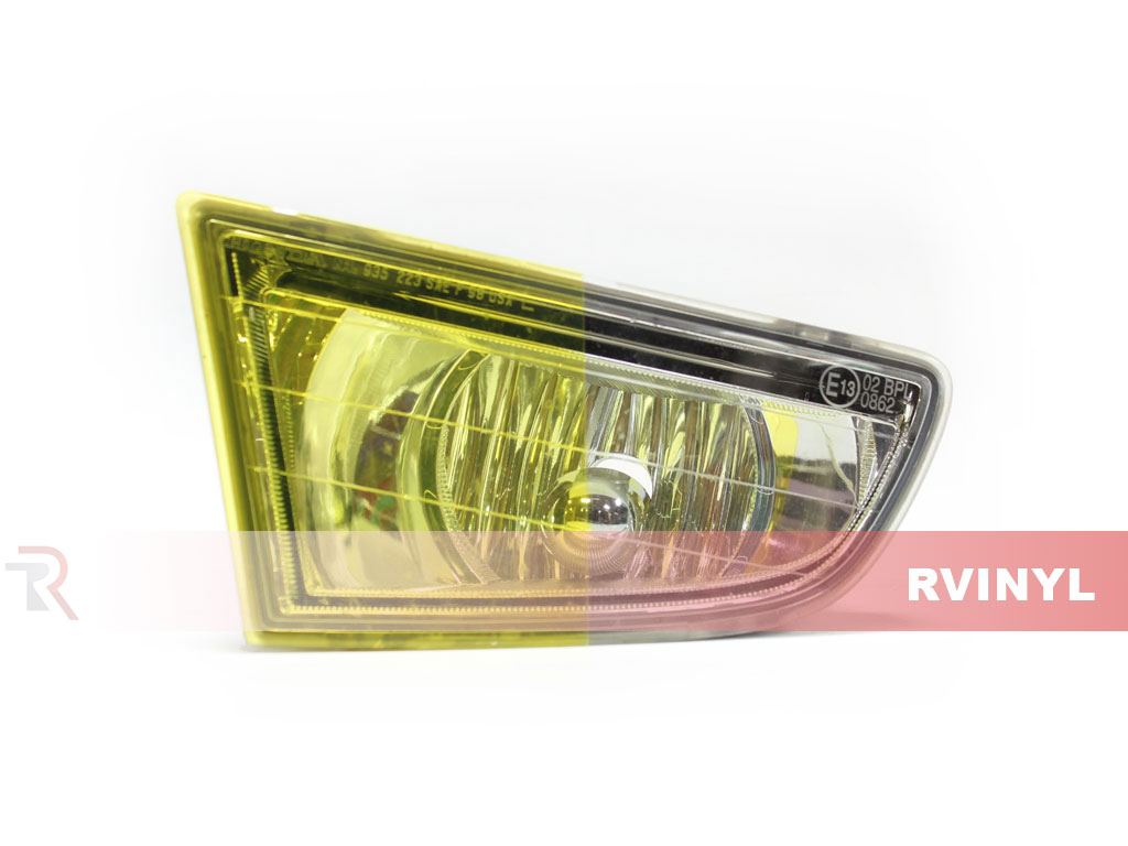Yellow Smoke Headlight Tint Example