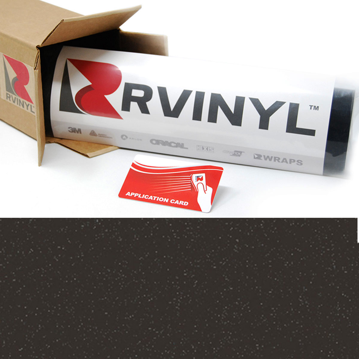 3m Controltac 180mc Charcoal Metallic Graphic Film