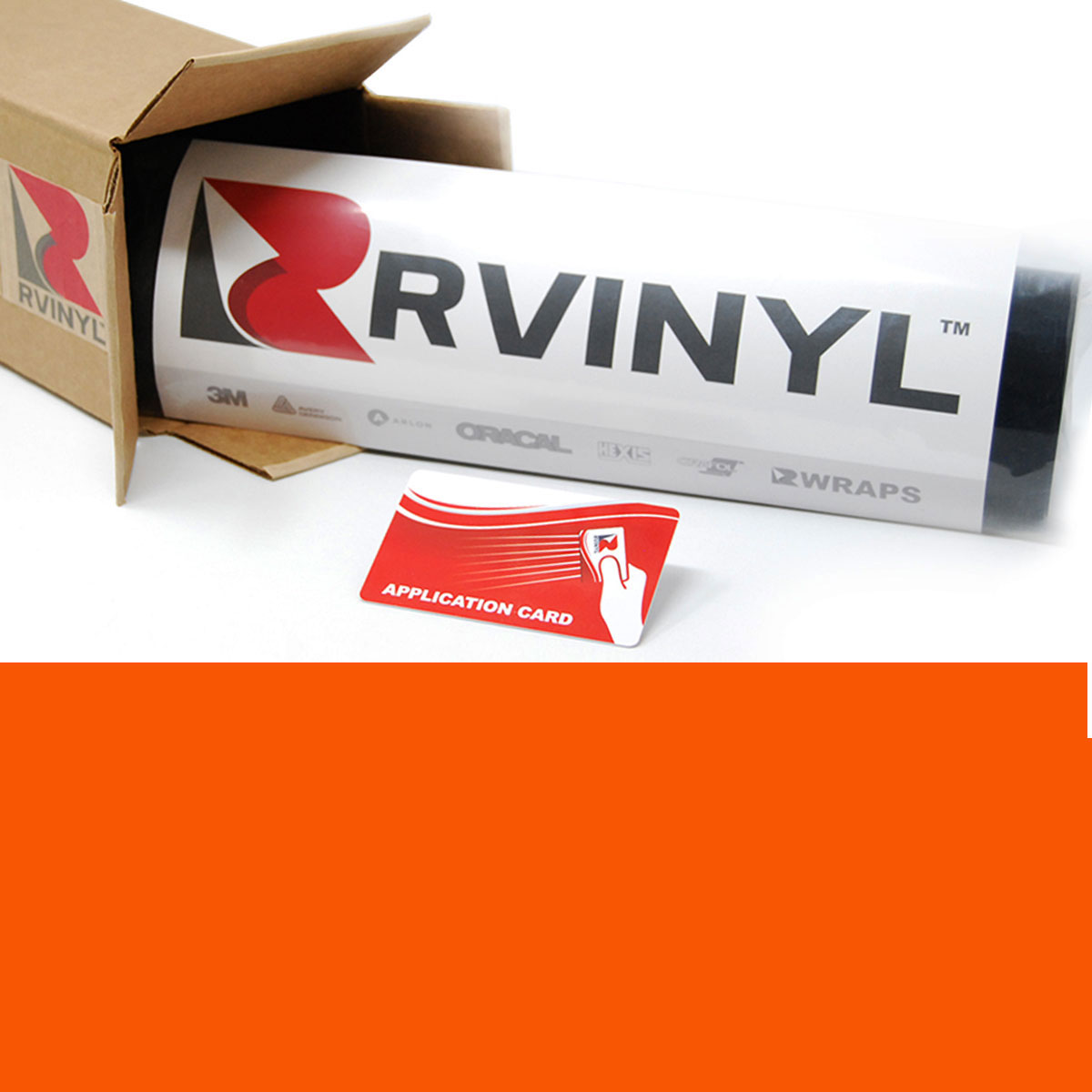 3M Paint Protection Film >> 3M™ 7125 Scotchcal Bright Orange Graphic Film | Sign Vinyl
