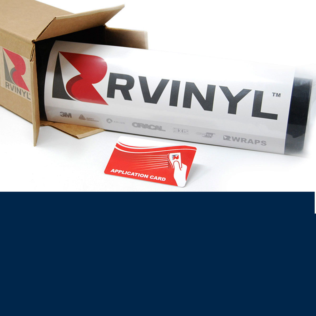 3M 7125 Scotchcal Light Navy Vinyl Film