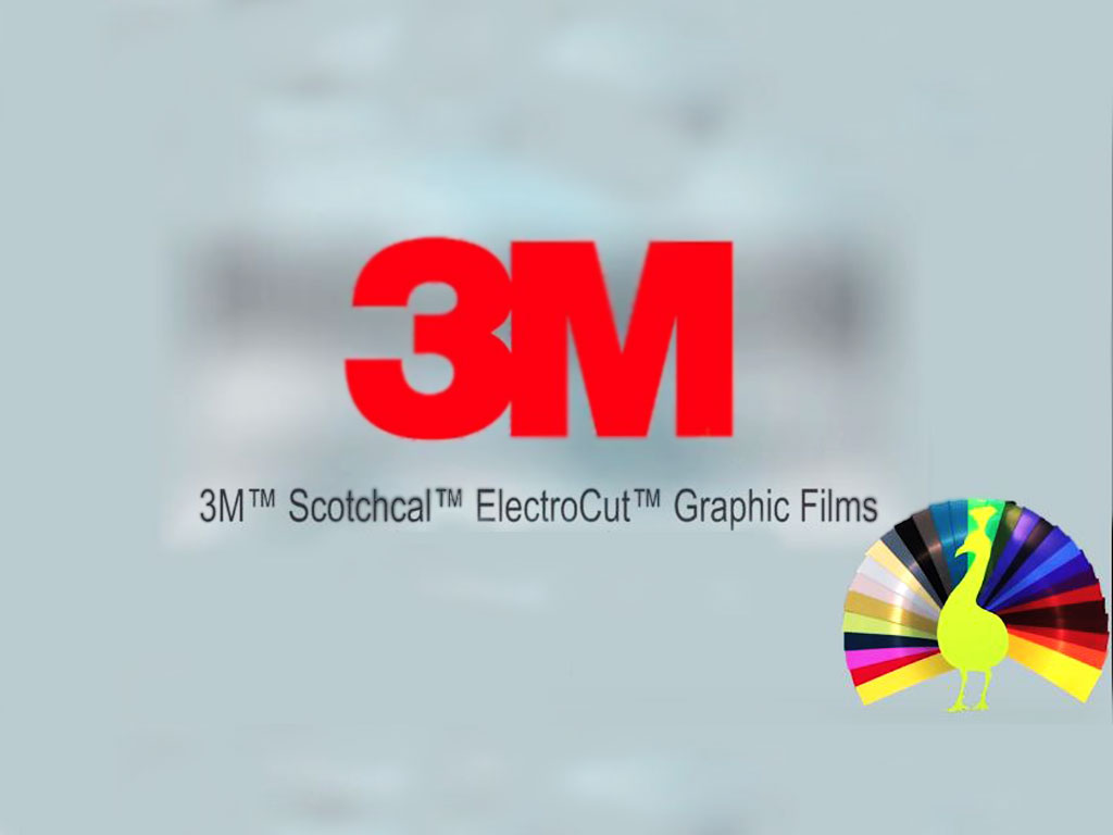 3M 7125 Scotchcal Opaque Vinyl Film