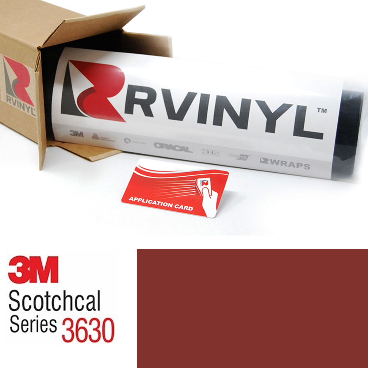 3M Scotchcal 3630 Light Rust Brown Translucent Graphic Film
