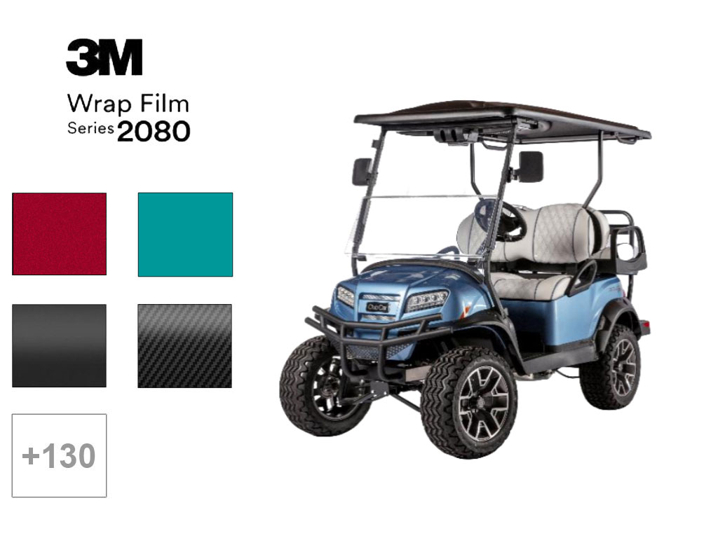 3M™ 2080 Series Golf Cart Wraps , 3M™