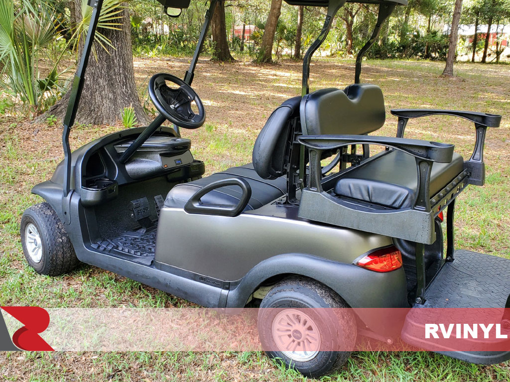 3M™ 2080 Series Satin Dark Gray Golf Cart Wrap