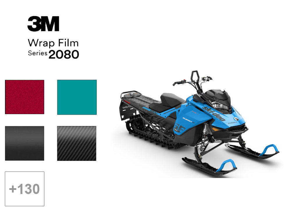 3M™ 2080 Series Snowmobile Wraps , 3M™