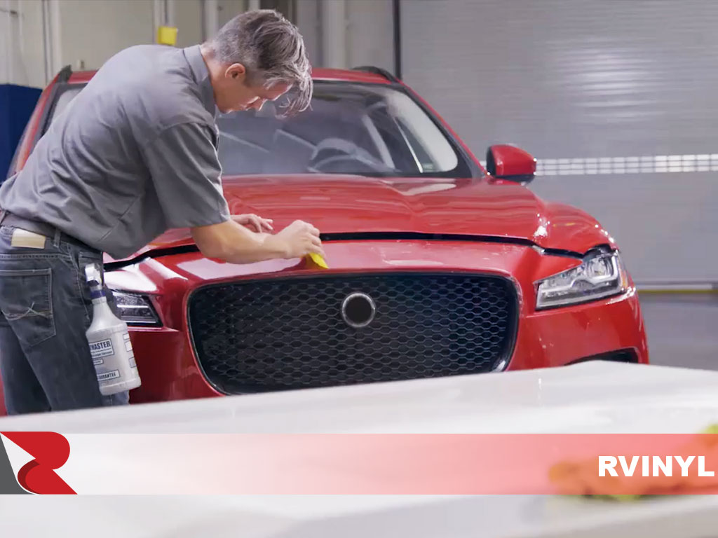 3M Professional Paint Protection Installation