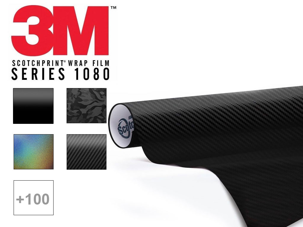 3M Scotchprint 1080 Series Dash Kit Film