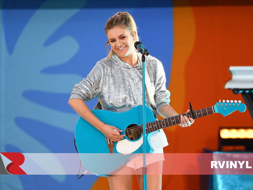 Kelsea Ballerini 3M™ Gloss Atomic Teal Wrapped Acoustic Guitar