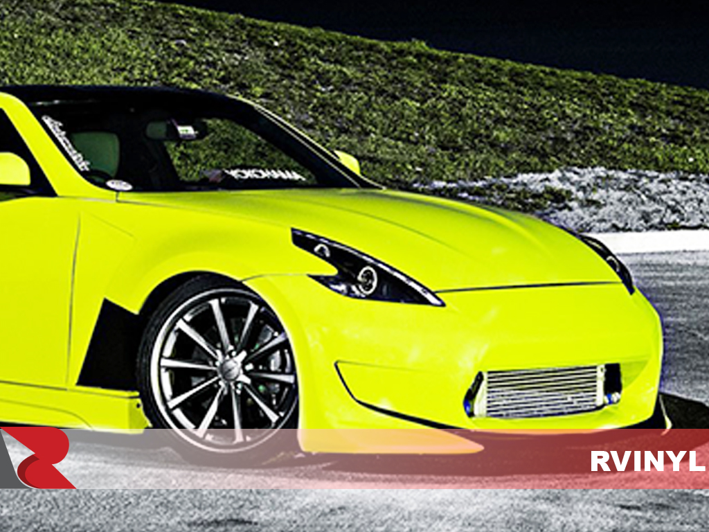 3M 1080 Satin Neon Fluorescent Yellow DIY Wrap