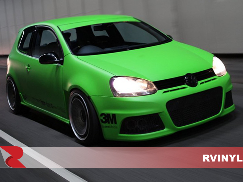3M 1080 Series Matte Green Front Wrap