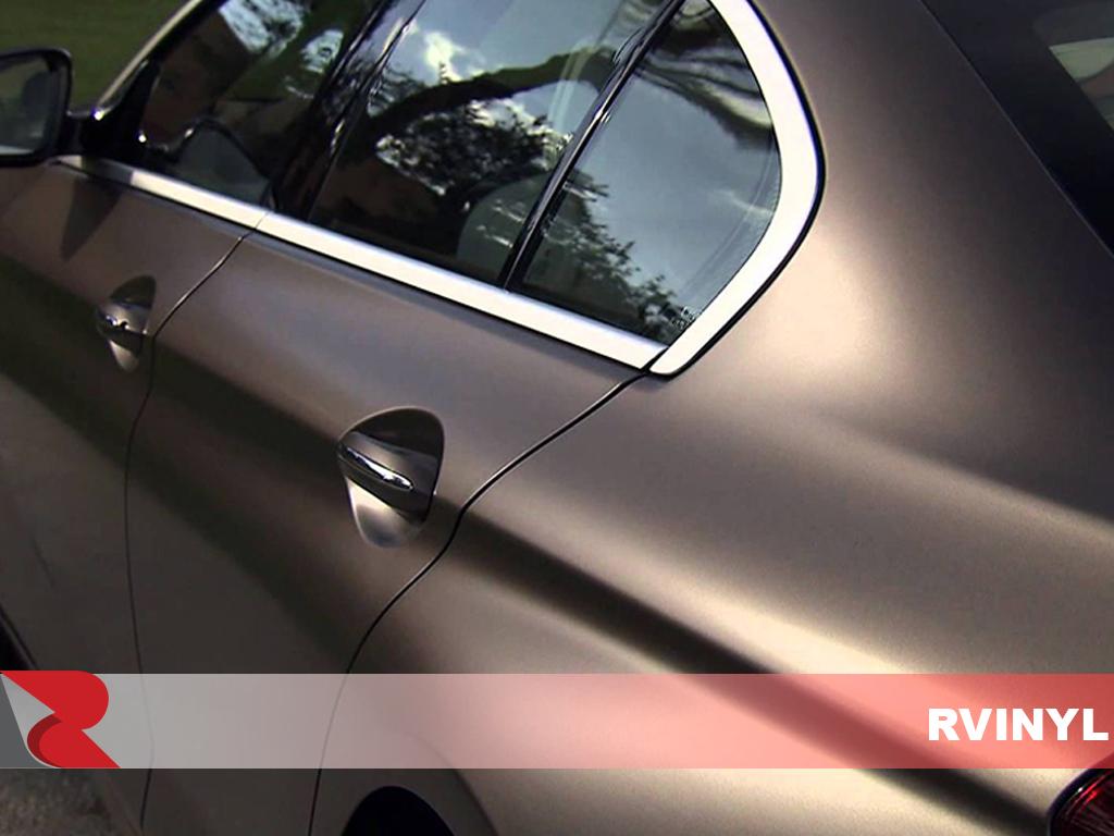 3M 1080 Matte Metallic Charcoal Vinyl Vehicle Wrap Film