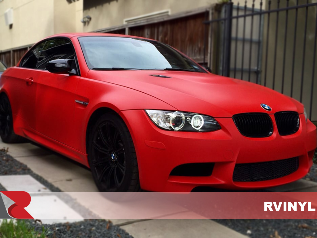 Matte Red 3m Wrap 1080 Series Matte Red Wrap Film