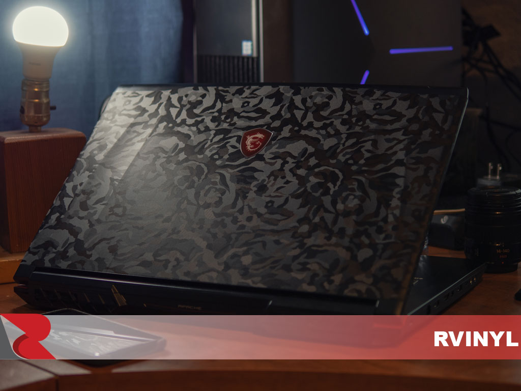 3M 1080 Series Shadow Black Laptop Wrap