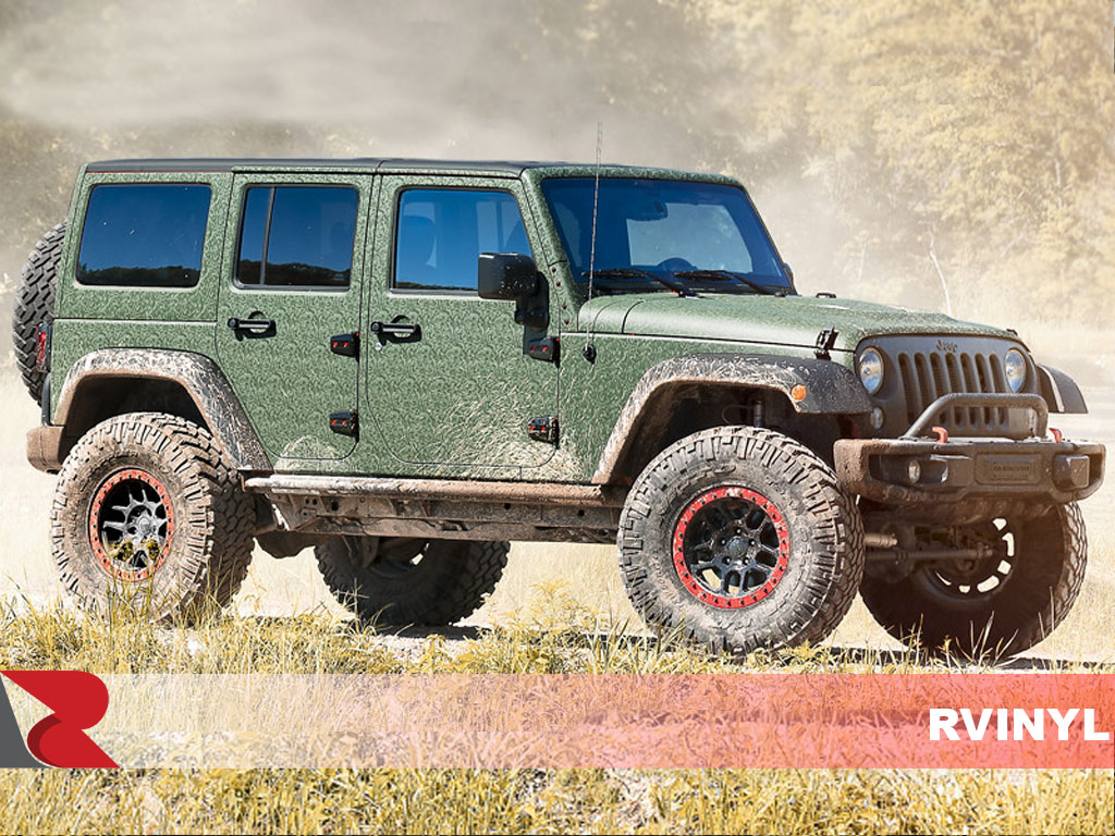 3M 1080 Shadow Military Green Full Vehicle Wrap
