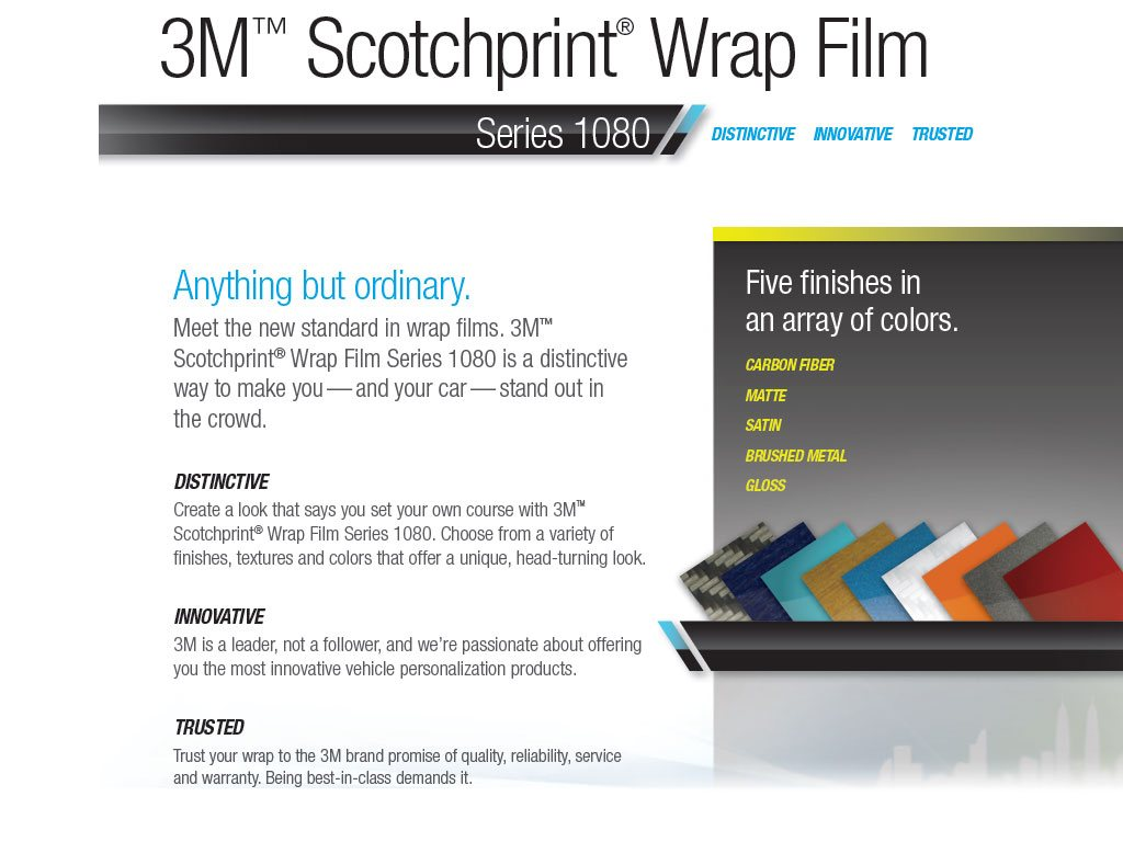 3M Scotchprint Wrap Film