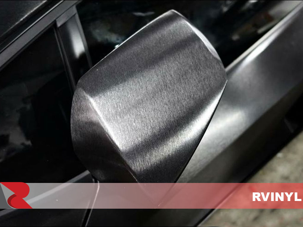 3M 2080 Series Brushed Black Wing Mirror Rwrap