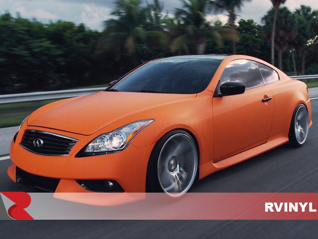 3M 2080 Series Matte Orange Front Custom Wrap