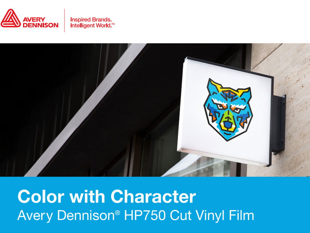 Avery Dennison HP750 Vinyl Film for Signs