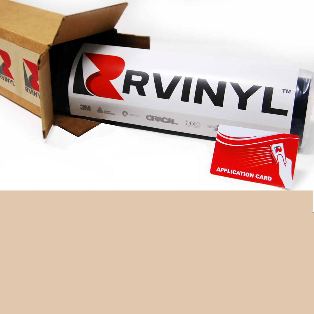 Avery HP750 Dark Beige High Performance Cut Vinyl Film