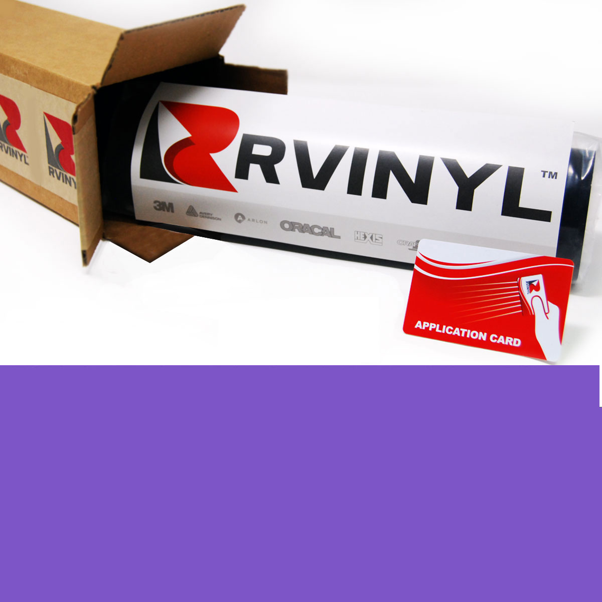 Avery HP750 Lavender High Performance Cut Vinyl Film