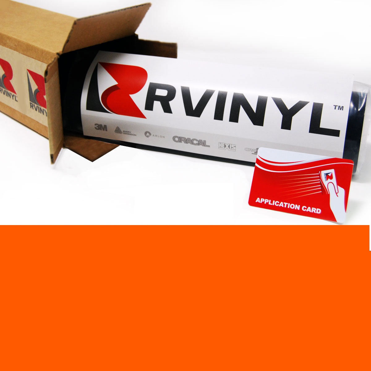 Avery HP750 Orange High Visibility Reflective Film