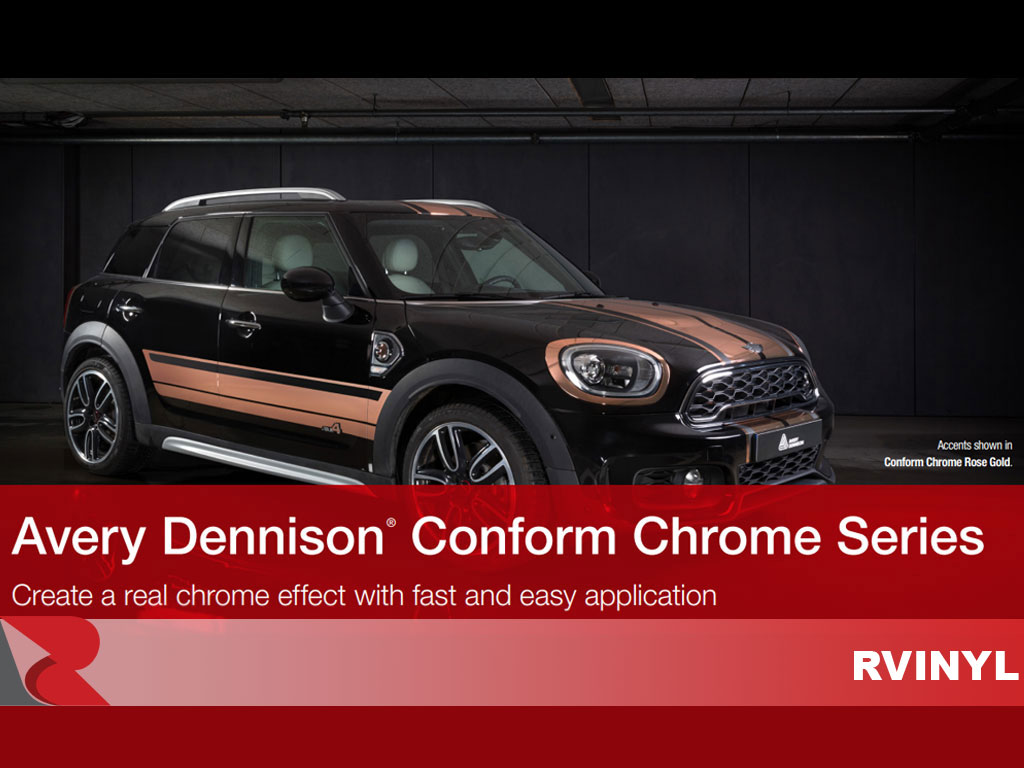 Avery Dennison Conform Chrome Gold Racing Stripes