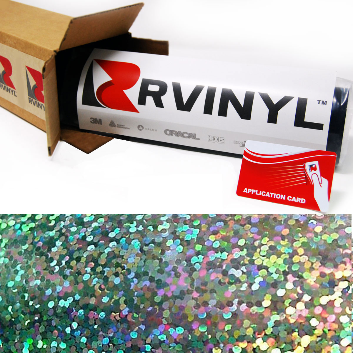 Avery SF100 Confetti Metalized Cut Vinyl Film