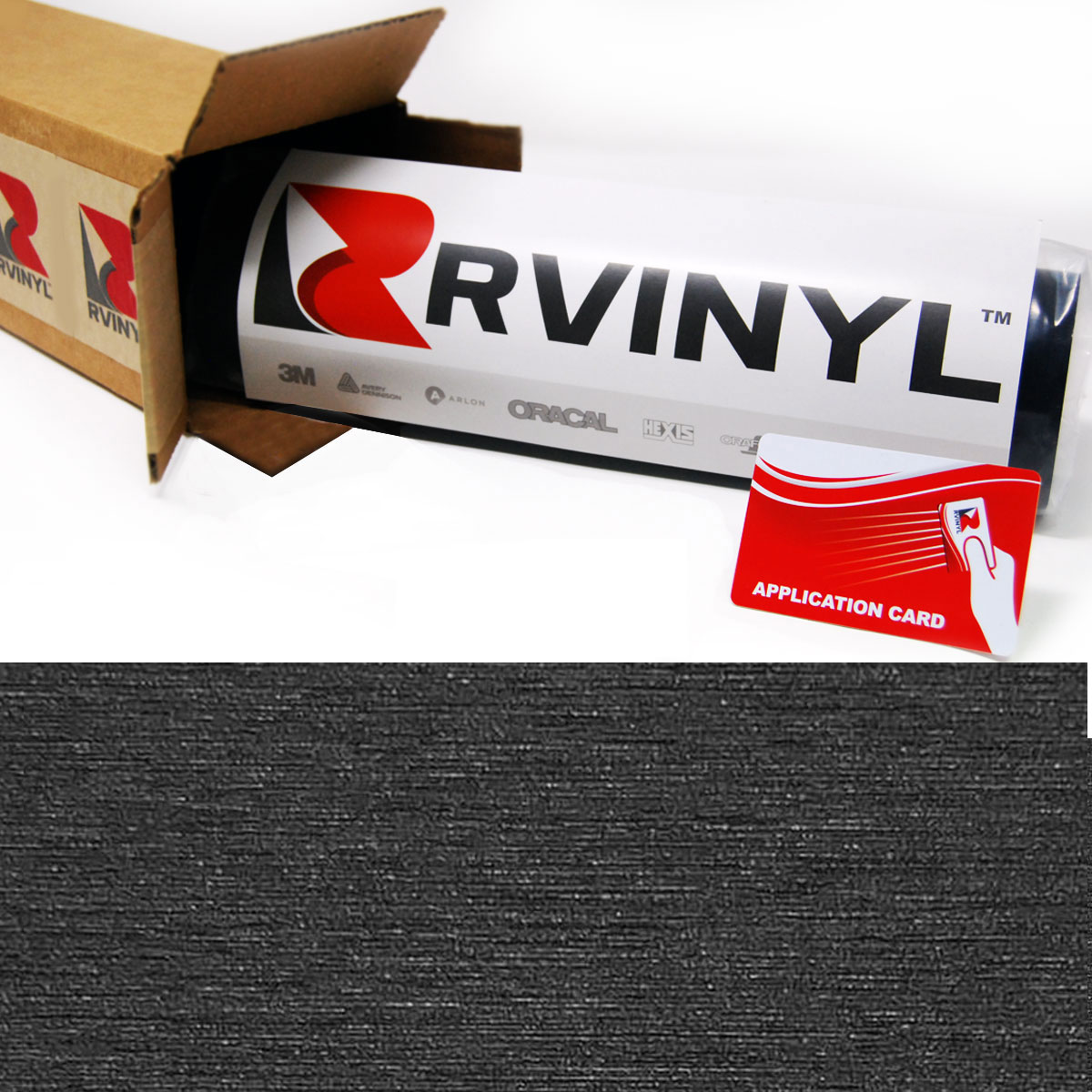 Brushed Black Avery SW900 Supreme Wrapping Film