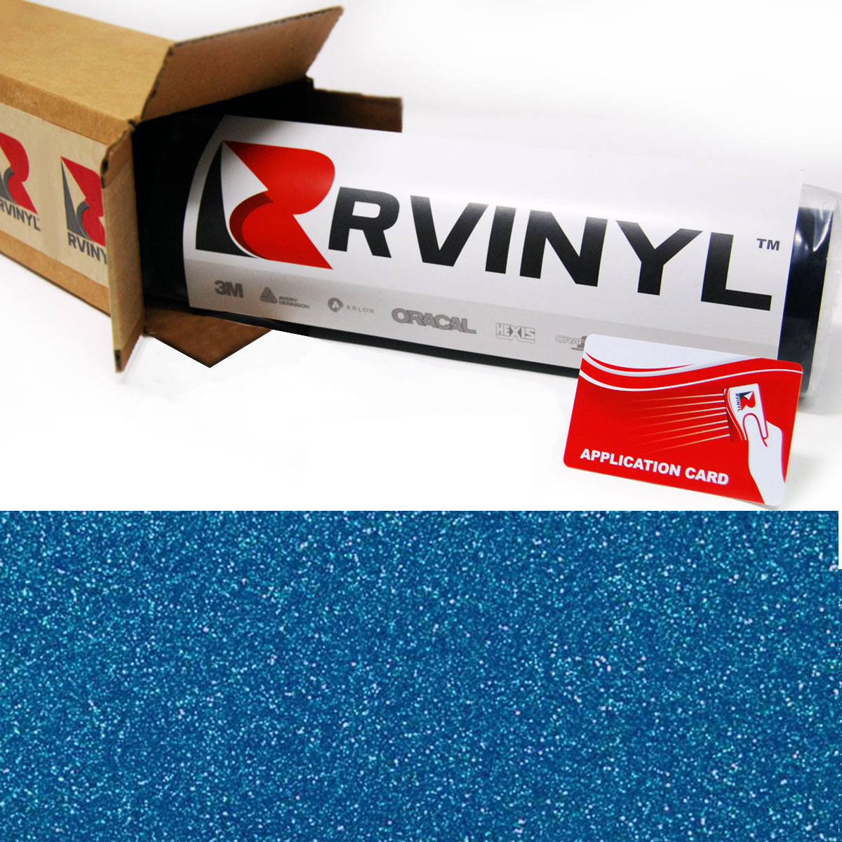 Gloss Diamond Blue Avery SW900 Supreme Wrapping Film