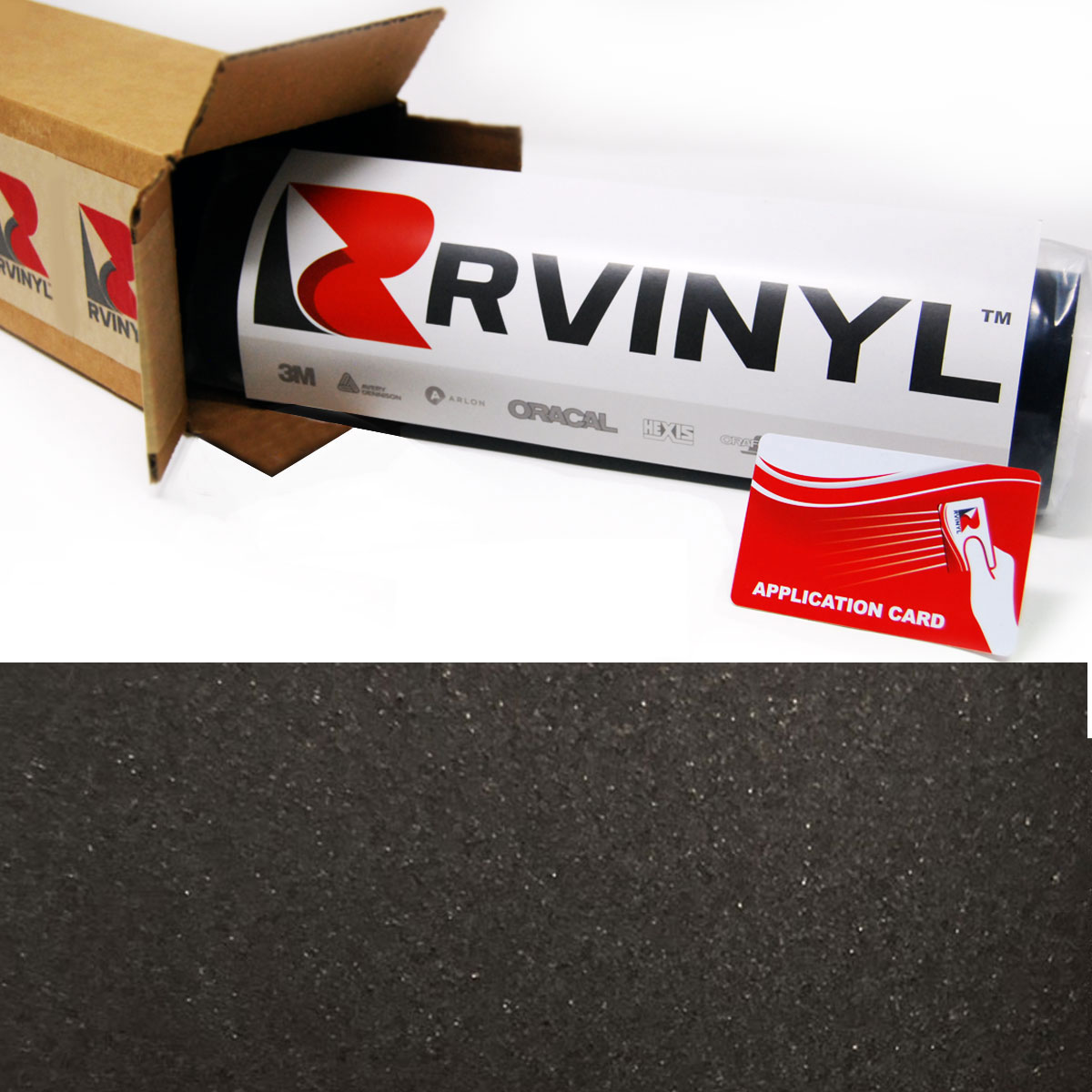 Dark Basalt Satin Avery SW900 Supreme Wrapping Film