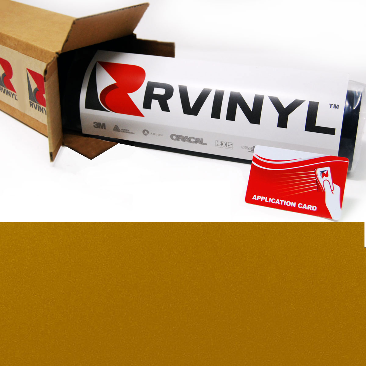 Gold Satin Avery SW900 Supreme Wrapping Film
