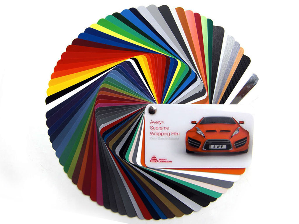 Avery Dennison SW 900 Vinyl Color Swatch Book