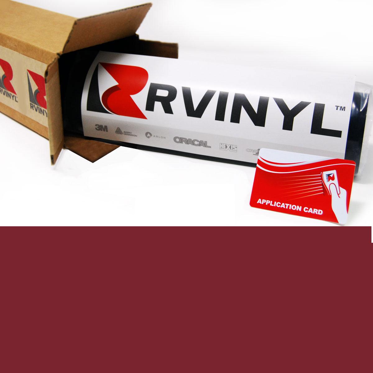 Avery™ UC900 Translucent Vinyl Film - Maroon Pantone 188 C