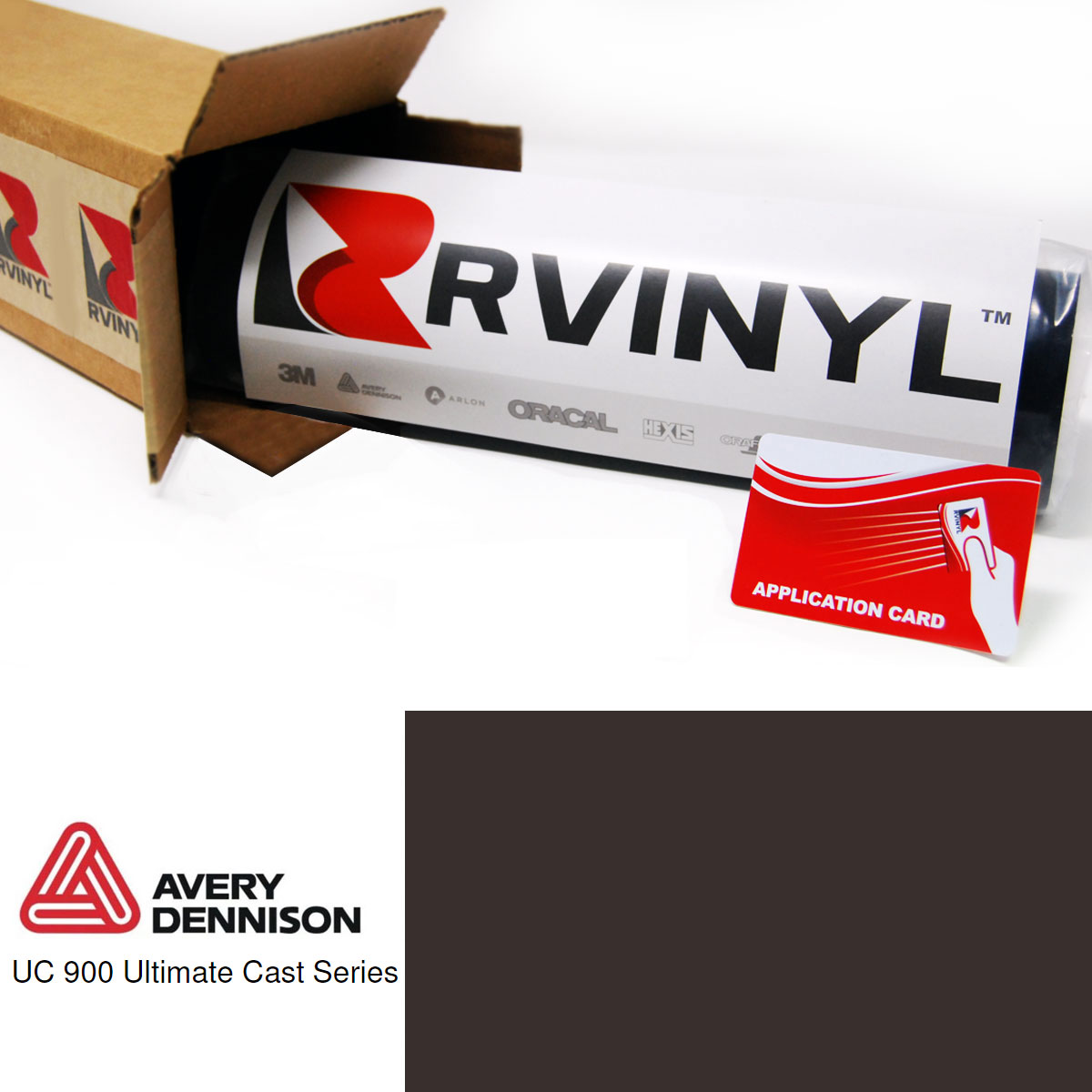 Avery UC900 Pantone 412 C Translucent Cut Vinyl Film