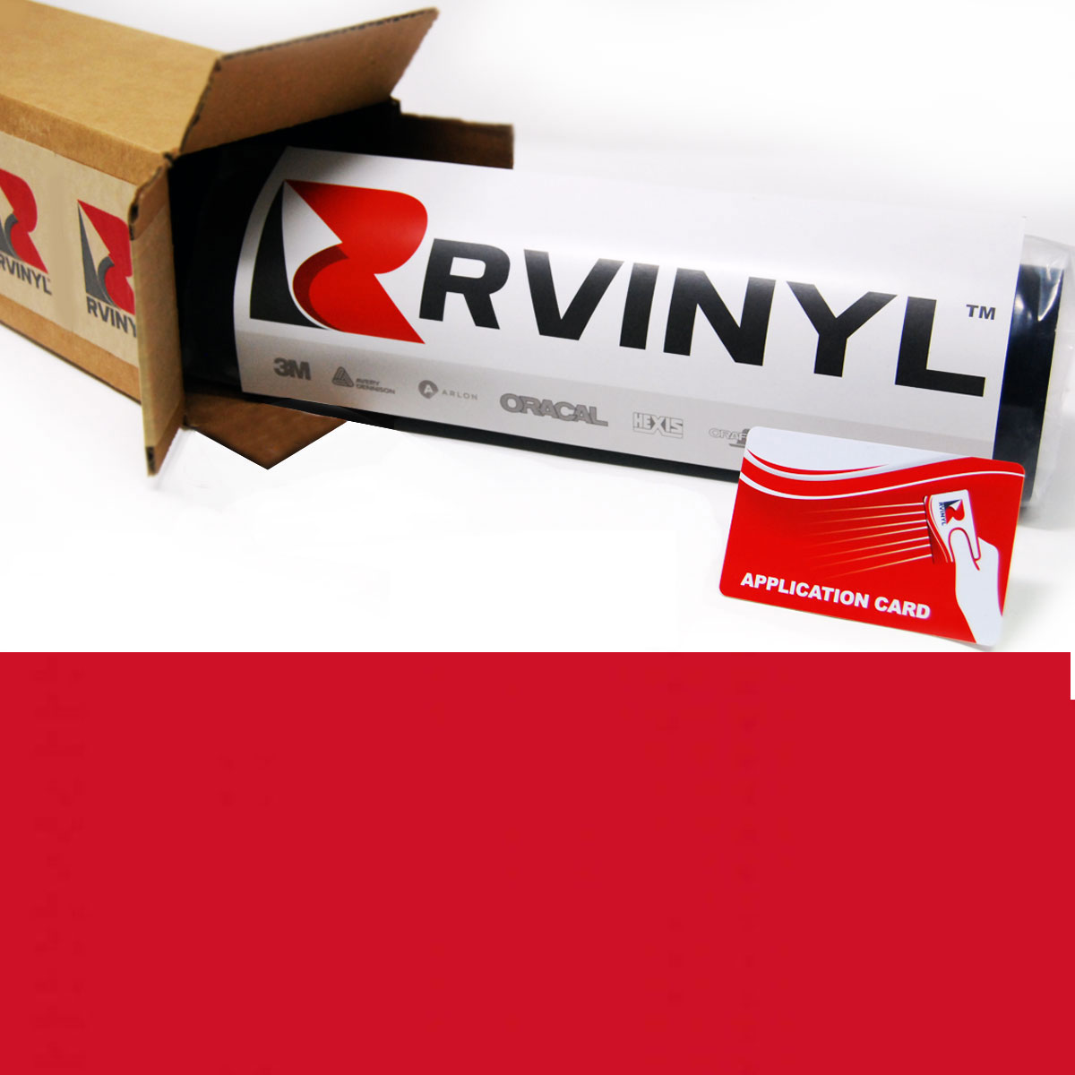Avery HP750 Red Premium Reflective Film