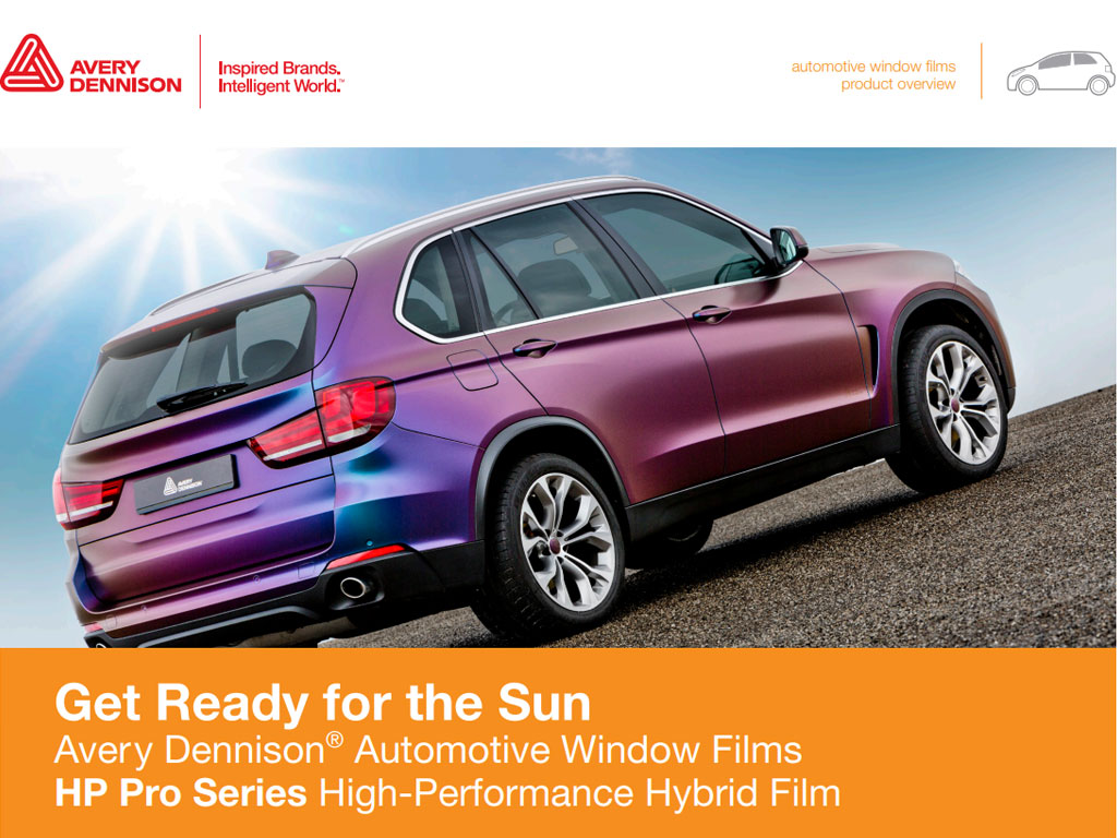 Avery Dennison Automotive Window FIlms